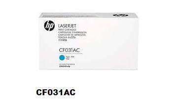 CF031AC CF031A 646A HP CARTUCHO TONER CYAN LASER CM4540